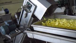 Parmak patates dilimleme makinası