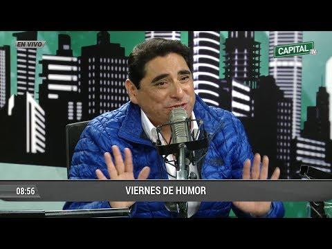 Carlos Alvarez parodia diálogo entre Ricardo Gareca y Claudio Pizarro