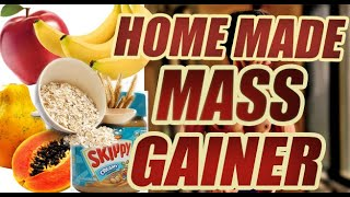 How to make Mass Gainer Supplement shake at Home.