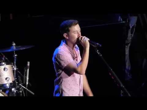 Scotty McCreery - 'The Trouble With Girls' - Shoreline Amp - Mountain View, Ca - Oct 4, 2015!