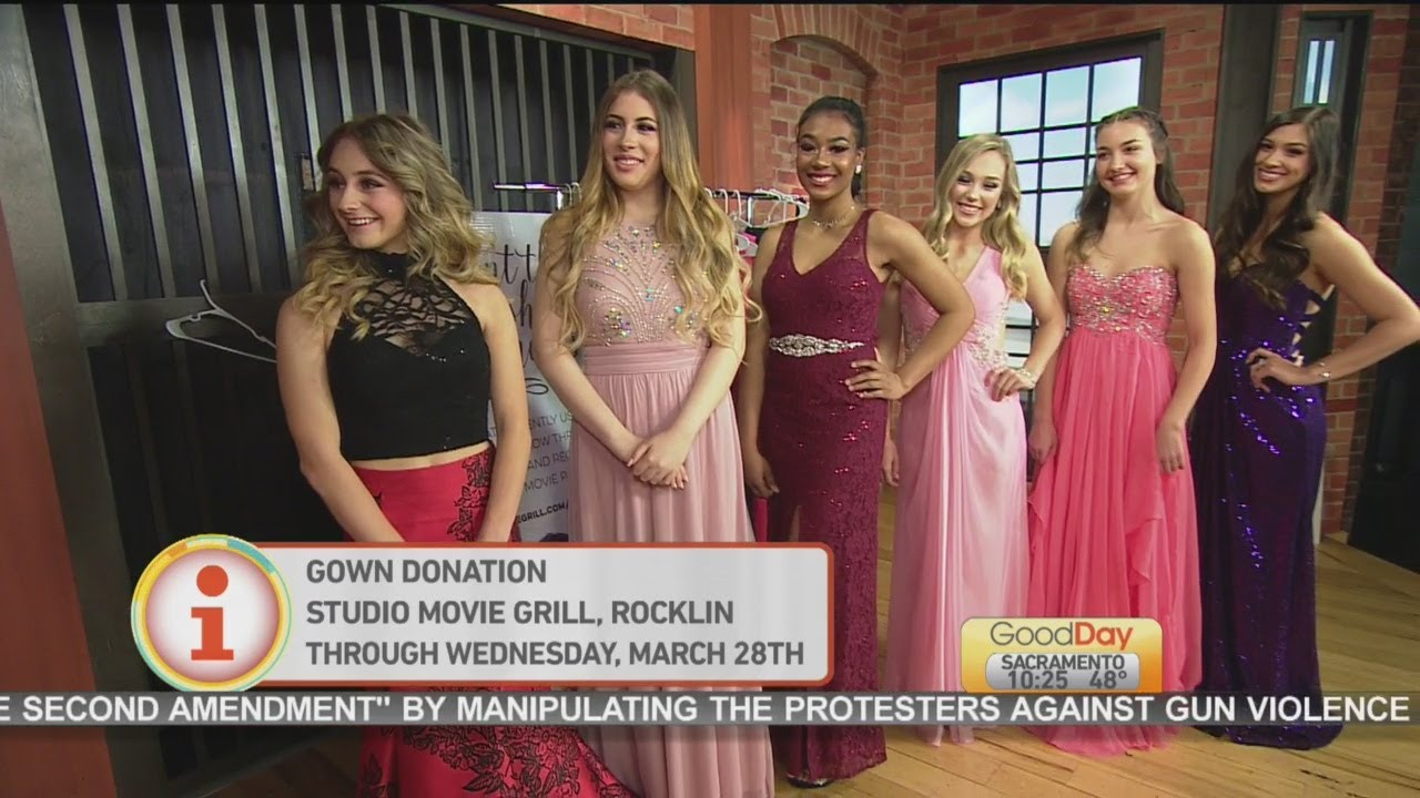Prom Dress Donations - YouTube