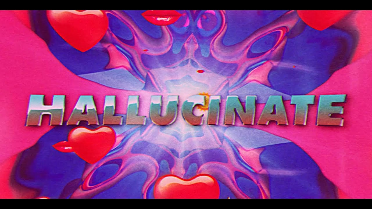 Dua Lipa - Hallucinate (Official Lyrics Video) chords | Guitaa.com