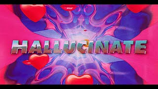 Dua Lipa - Hallucinate (Official Lyrics Video)