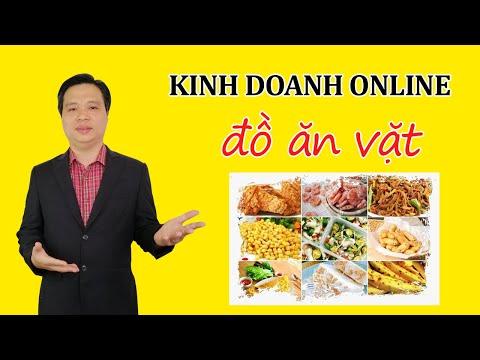 Ý TƯỞNG KINH DOANH ONLINE ✍️ Kinh doanh đồ ăn vặt