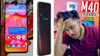 GALAXY M40 LEAKED !! Note 7 Pro Ko Hara Dega?? Super Amoled , Sd660, 128gb 🇮🇳🤔
