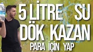 PARA İÇİN YAP #6 | 50 METRE SÜRÜNDÜ !! |