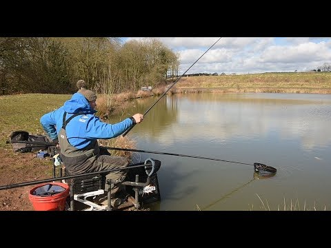 Andy May - pole fishing for silverfish on commercials