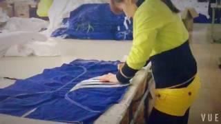 factory making bjj gi