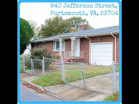 940 Jefferson st, Portsmouth, VA, 23704