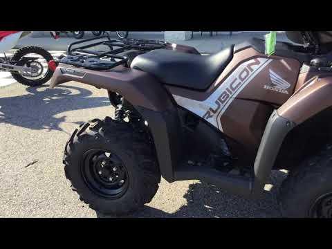 2020 Honda Foreman Rubicon 4X4 EPS