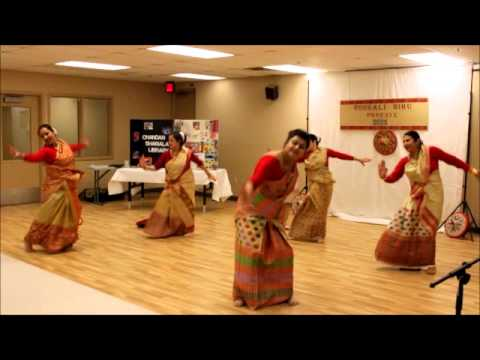 Our Bihu dance, Rongali Bihu celebration, 2015 (Phoenix, AZ)