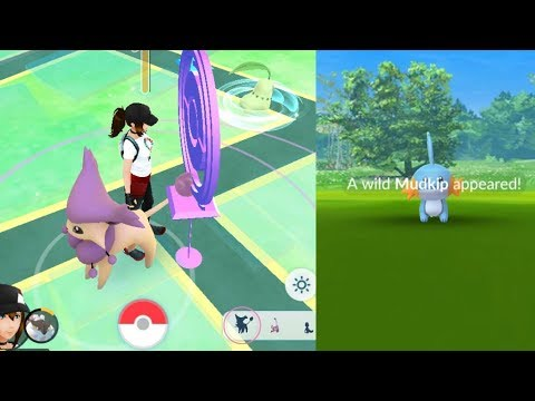 Download Youtube: WHOAH SO CUTE! Mudkip & Decalty Best Generation 3 Catches in Pokemon Go