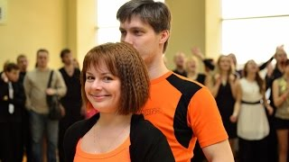 Открытые уроки по хастлу Алексея и Ольги