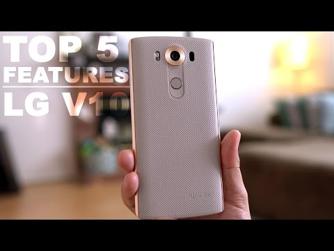 LG V10 TOP 5 Features