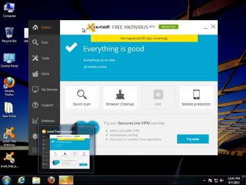How to Uninstall avast FREE ANTIVIRUS 2014 V9.0