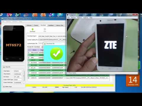طريقة تفليش zte blade q maxi flash rom firmware