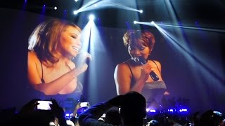 Mariah Carey & Whitney Houston - When You Believe Live @ AccorHotels Arena, Paris, 2016