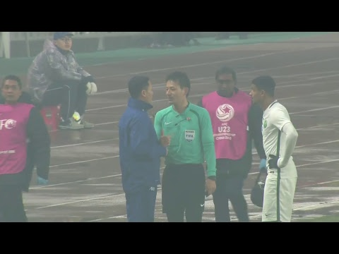 Saudi Arabia vs Malaysia (AFC U23 Championship: Group Stage)