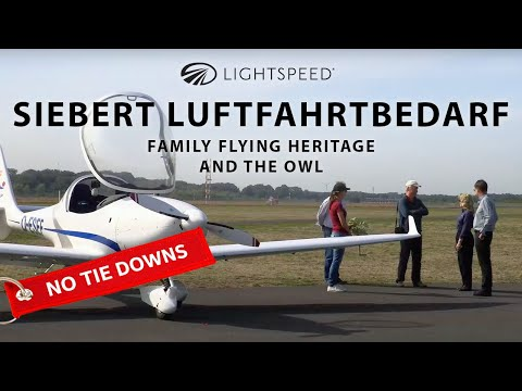 Aviation No Tie Downs: Siebert Luftfahrtbedarf, family flying heritage and the owl