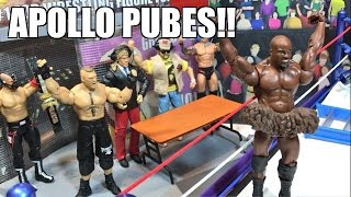 GTS WRESTLING: AWKWARD MOMENTS! WWE Mattel Figure Animation PPV Event!