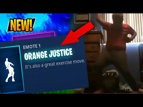 orange shirt kid dance added to fortnite justice has been served fortnite season 4 - orange kid fortnite dance