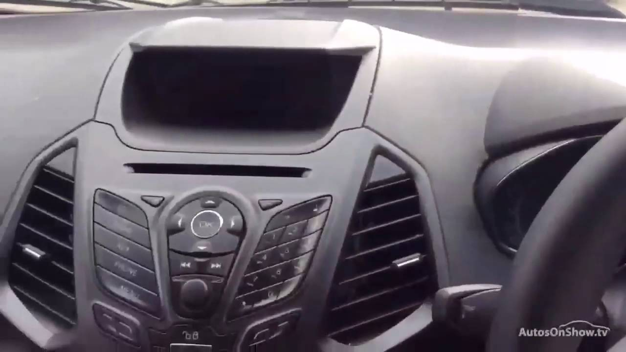 Ford Ecosport Zetec Black