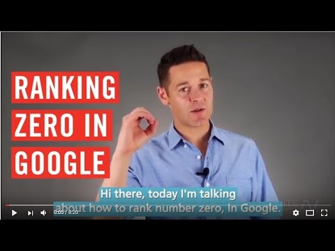 How To Rank #0 In Google Results (Above #1) John Lincoln, Ignite Visibility