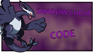 SHADOW LUGIA CODE! | Project: Pokemon | ROBLOX |