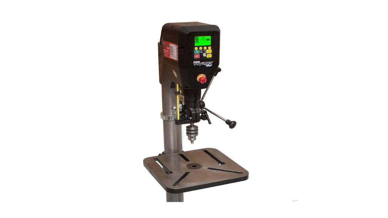 Voyager Dvr Drill Press Review Youtube