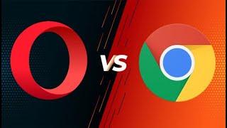 Google Chrome vs Opera browser screenshot 2