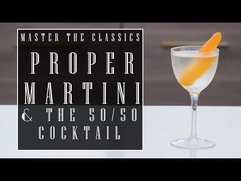 Master The Classics: Gin Martini