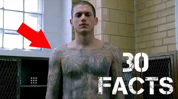 30 facts you didnt know about prison break