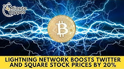 Bitcoin Lightning Network Boosts Twitter and Square Stock Prices by 20%