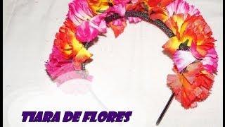 DIY.: Tiara de Flores