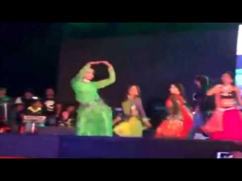 Khesari Lal Yadav Happy Rai Stege Show 2017 (14 June-2017)latest Hits Show In Doha