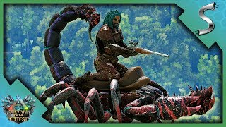 I SHREDDED HIS REX WITH A SHOTGUN! SOTF VICTORY! - Ark: Survival of the Fittest [SOTF Solo Gameplay]