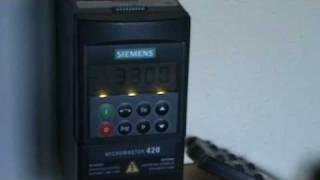 variador micromaster 420 siemens