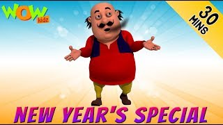 Motu Paltu  New Years special  30 Min compilation  Wow Kidz  2