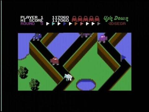 UP'N DOWN (C64 - FULL GAME)