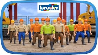 BRUDER bworld - Flash Mob der Spielfiguren