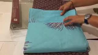 Комплект постельного белья Viluta(Вилюта )9987 - Видеообзор