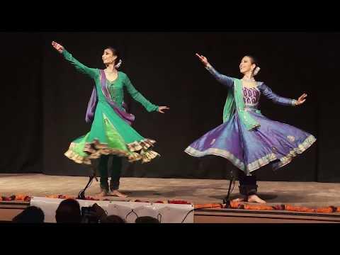 Kathak jugalbandhi duo by Jigna Dixit & Kinga Malec