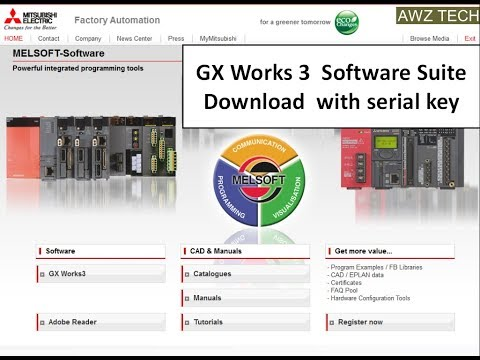 GX WORKS-3 MITSUBISHI PLC SOFTWARE - YouTube