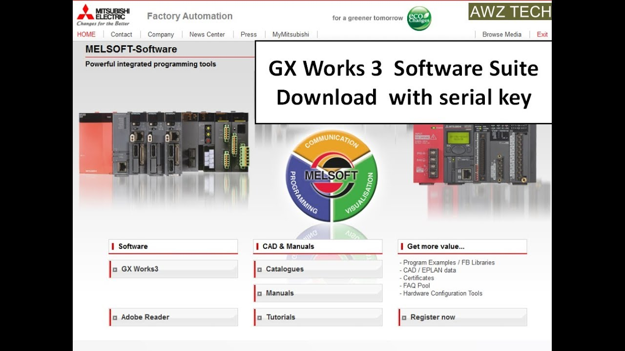 GX WORKS-3 MITSUBISHI PLC SOFTWARE