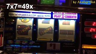 ★BIG WIN★LIVE PLAY★SEVEN STRIKE Dollar Slot Max Bet at Barona Casino.and Jackpot Pic etc.