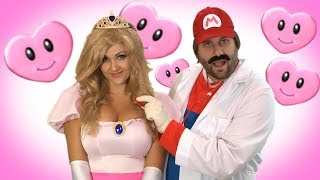 Princess Peach Mario Song -Alex Bloom - One More Shot Song