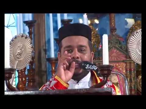 Fr. Joji Varghese Qurbana at Puthuppally Pally