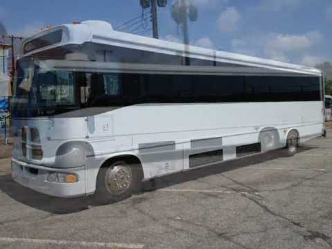 Used Luxury Shuttle Bus For Sale! 2009 Freightliner Glaval ...