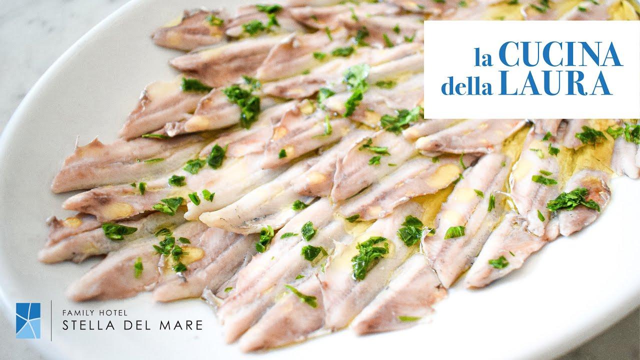 Alici marinate tradizionali | La Cucina della Laura
