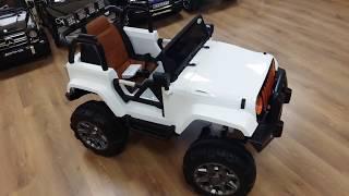 Детский электромобиль JEEP Т010МР (4*4)